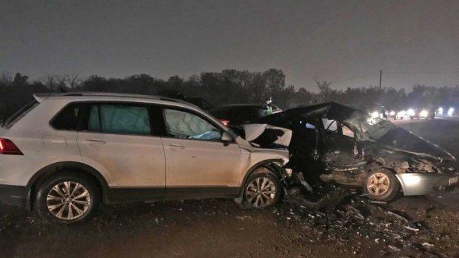 Мужчина и женщина погибли в ДТП в Тамбове