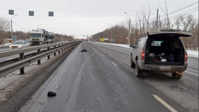 Под Рязанью внедорожник насмерть сбил пешехода