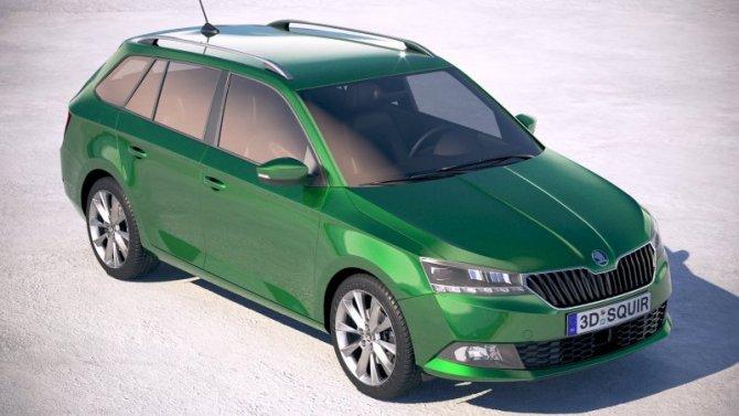 Новая Skoda Fabia получит два варианта кузовов
