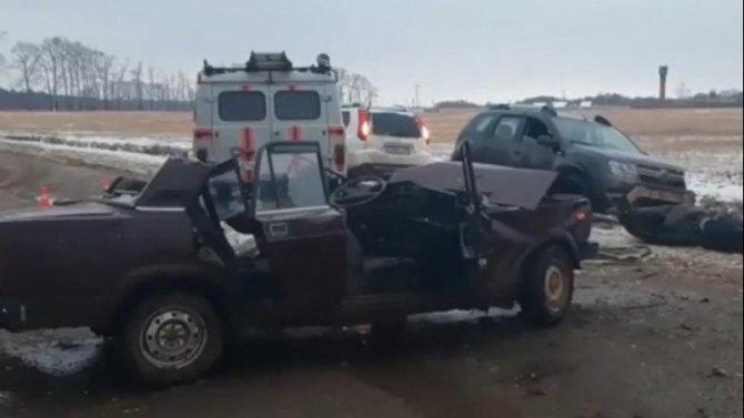 В ДТП Башкирии погиб 82-летний водитель