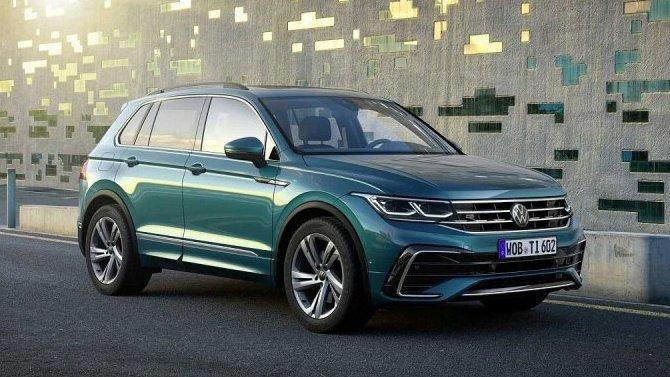 Российская версия нового Volkswagen Tiguan: известны подробности