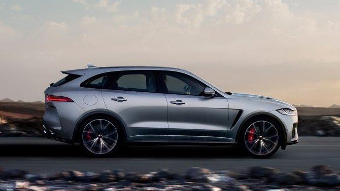 Jaguar готовит конкурента для Tesla Model X
