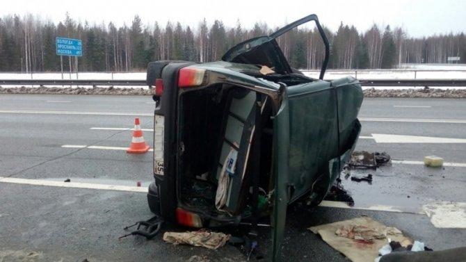 Водитель «Оки» погиб в ДТП в Сокольском районе