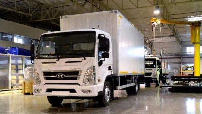 ВКалининграде начался выпуск грузовиков Hyundai Mighty