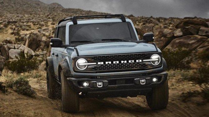 Ford Bronco получил мягкую крышу