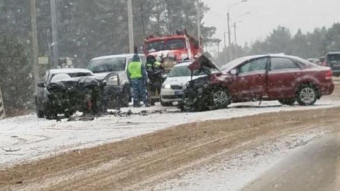 Женщина погибла в ДТП в Рязанской области