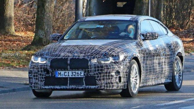 Замечен новый прототип BMW i4 M