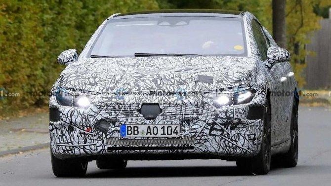 Начались испытания премиального электроседана Mercedes-Benz EQE