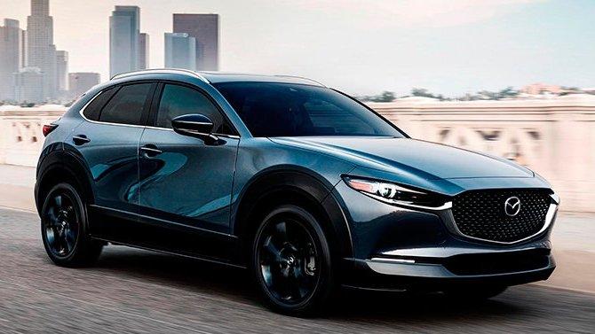 Объявлена стоимость Mazda CX-30 стурбонаддувом