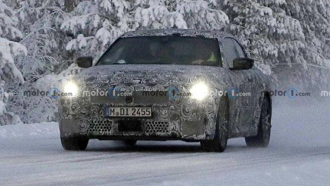 Начались испытания обновлённого купе BMW 2-Series