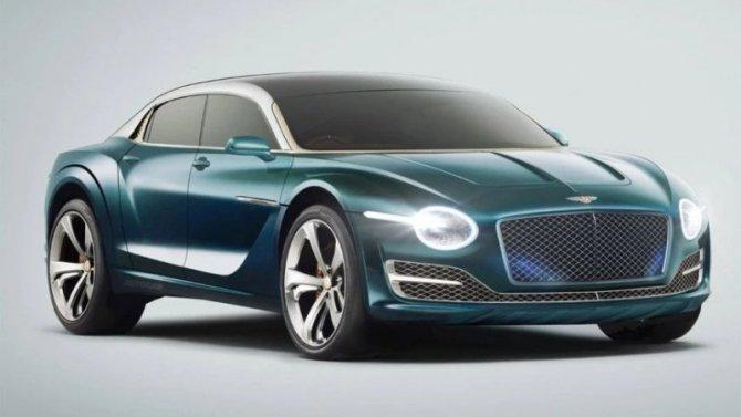 Каким будет первый электромобиль Bentley