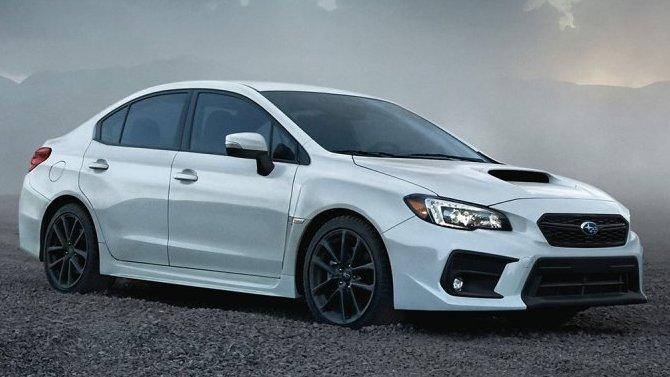 Обнародованы цены на обновлённые седаны Subaru WRX и Subaru WRX STI