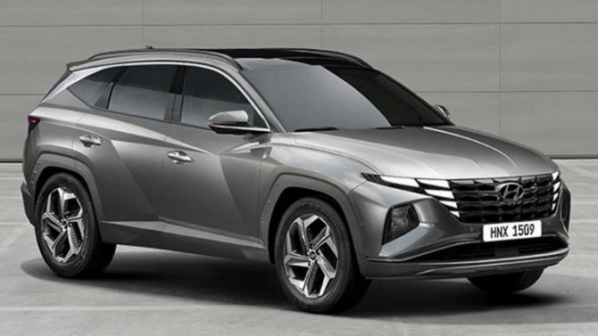 Удлинённый Hyundai Tucson скоро появится вавтосалонах