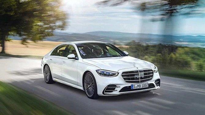 Стали известны рублёвые цены нового Mercedes-Benz S-Кlassе