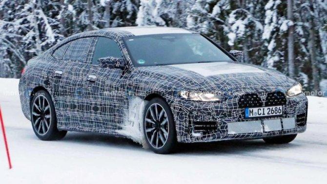 Надорогах появился новый BMW 4-Series Gran Coupe