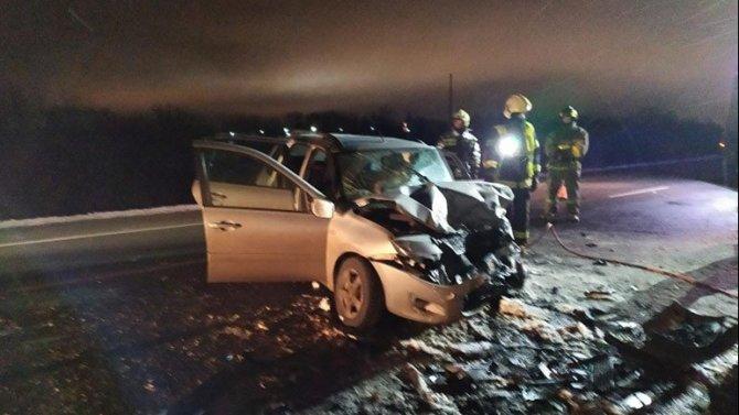 Женщина погибла в ДТП с КамАЗом в Архангельской области