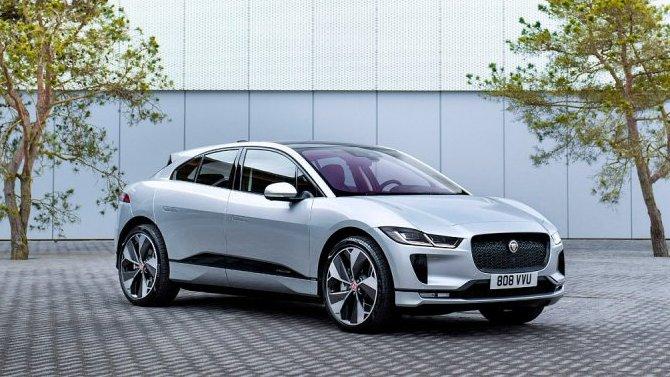 Объявлена начальная цена обновлённого Jaguar I-Pace