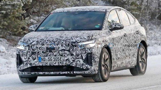 ВШвеции появился Audi Q4 е-Tron Sportback