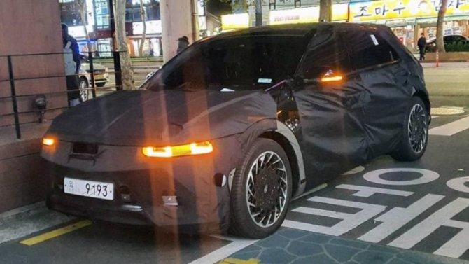 Рассекречен облик электромобиля Hyundai IONIQ 5