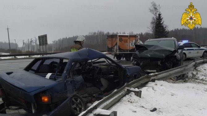 Пассажир ВАЗа погиб в ДТП под Малоярославцем