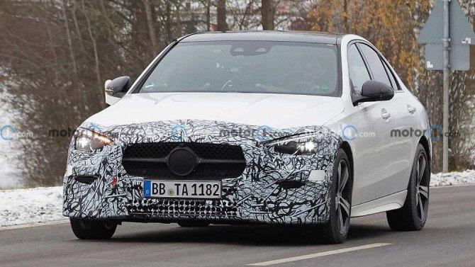 Обновлённый Mercedes-Benz C-Кlassе: премьера совсем скоро