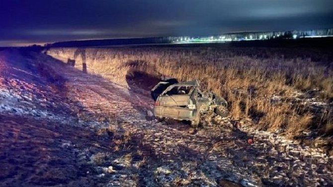 Женщина погибла в ДТП в Тульской области