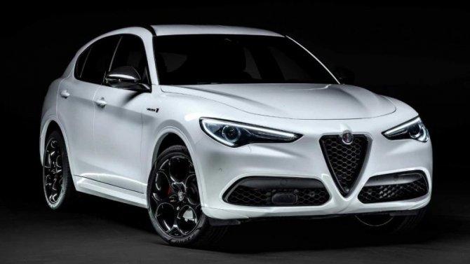 Кроссовер Alfa-Romeo Stelvio получит новую комплектацию