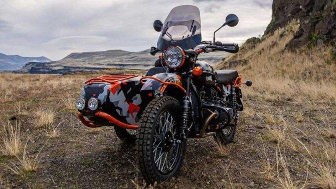 Мотоцикл «Урал» получил внедорожную версию