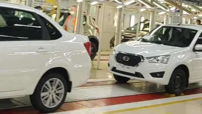 «АвтоВАЗ» прекратил выпуск автомобилей Datsun