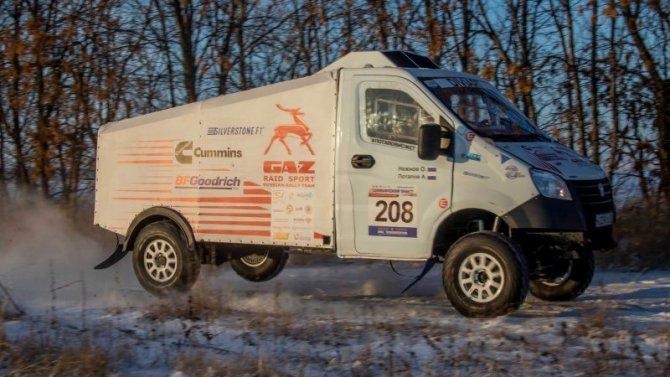 Команда «ГАЗ Рейд Спорт» выиграла Чемпионат России поралли-рейдам
