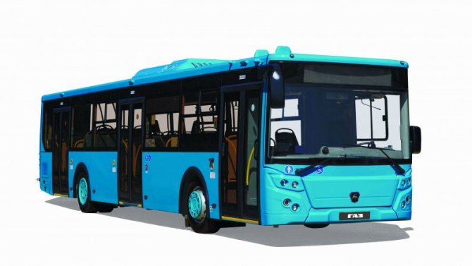 ВСанкт-Петербурге появились новые автобусы ЛиАЗ