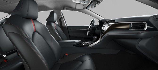 Toyota Camry S-Edition салон
