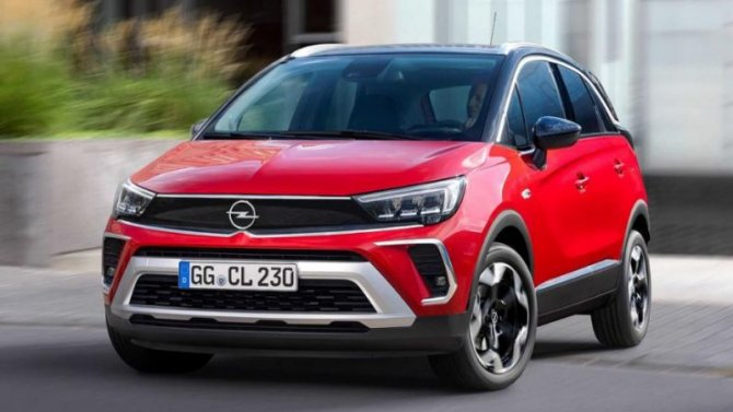 Новый Opel Crossland: скоро вРоссии