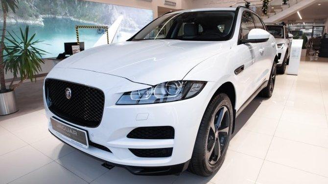 Последние автомобили Jaguar F-PACE в наличии с ПТС в «АВИЛОН»!