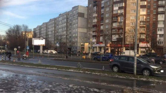 «Зебра» вКалининграде неспасла 44-летнего пешехода