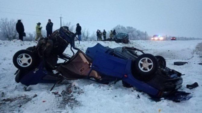 Два человека погибли в ДТП в Новоузенском районе Саратовской области