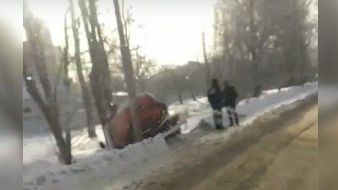 В Туле водитель ассенизаторской машины «сгорел на работе»