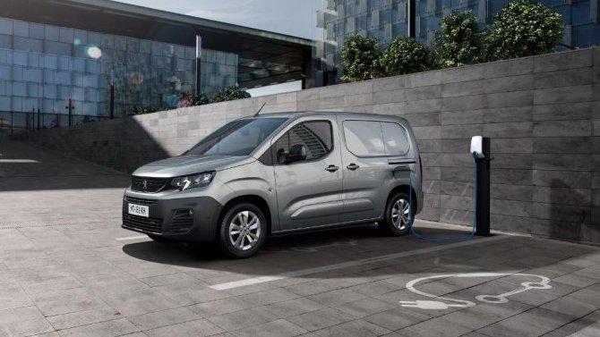 Представлен электрофургон Peugeot e-Partner