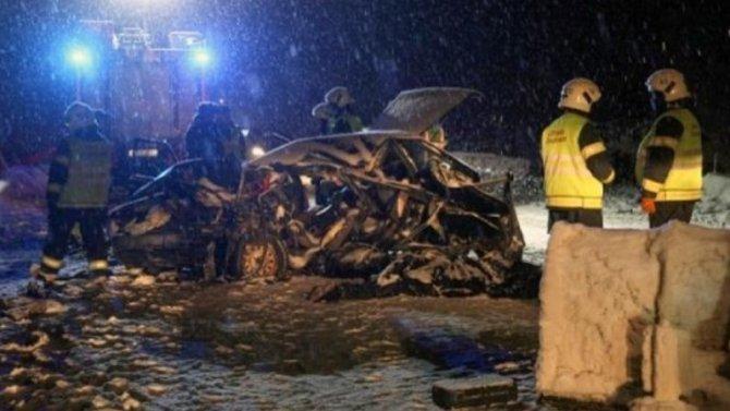 Четыре человека погибли врезультате столкновения «девятки» с«Хендай»