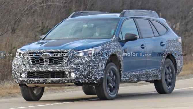 Начались испытания внедорожной версии универсала Subaru Outback