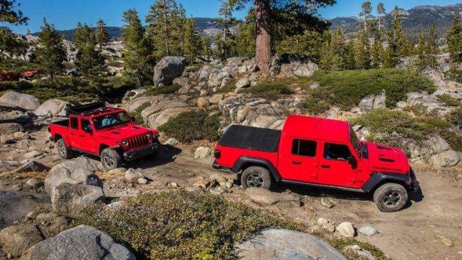 Внедорожники Jeep могут получить управляемые задние колёса