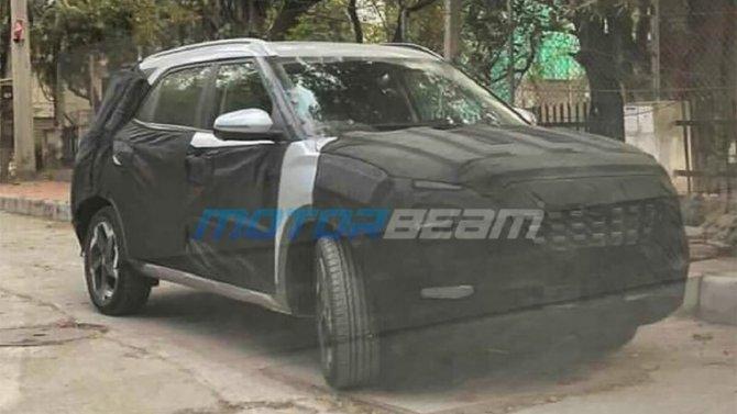 Семиместная версия Hyundai Creta может получить собственное имя