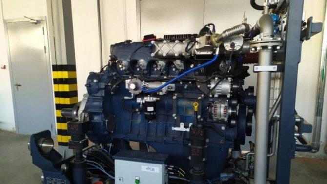 НаКамАЗе начались испытания принципиально нового двигателя