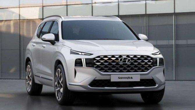 Известна моторная линейка российской версии нового Hyundai Santa Fe