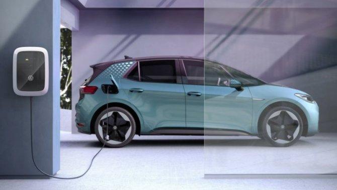 Volkswagen увеличит число своих зарядных станций