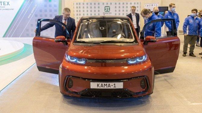 Российский электромобиль «Кама-1» станет родоначальником целой линейки