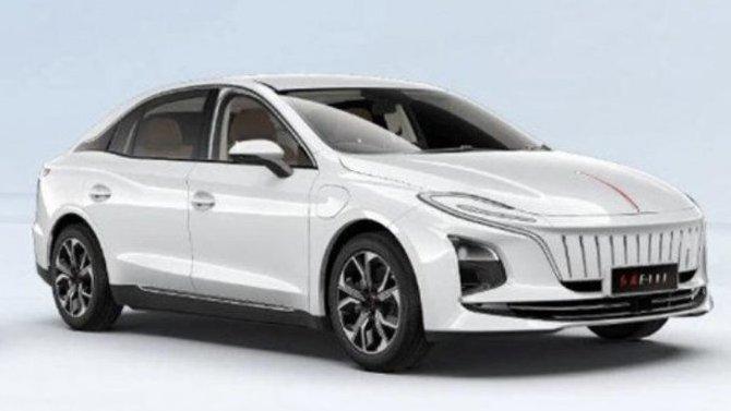 Фирма Hongqi показала свой новый электромобиль
