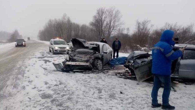 Пять человек пострадали в ДТП в Болотнинском районе Новосибирской области
