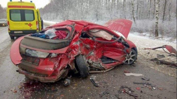 В ДТП в Шиловском районеРязанской области погиб человек