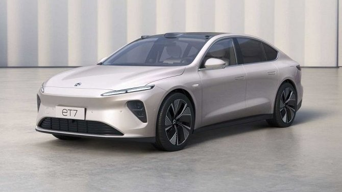 ВКитае представлен новый электрический седан